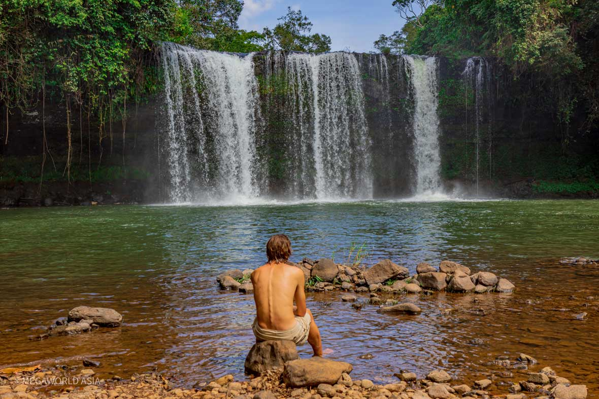 The Bolaven Loop Tour Interactive Travel Guide Waterfall
